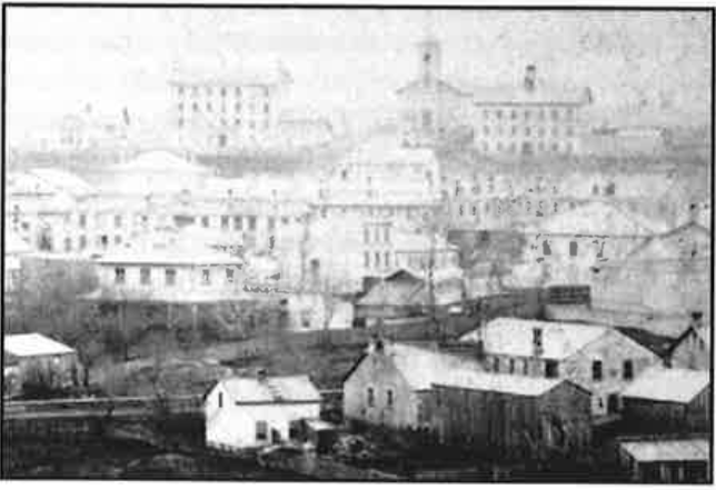 Historic Guelph 1860's photo of Guelph V48P7