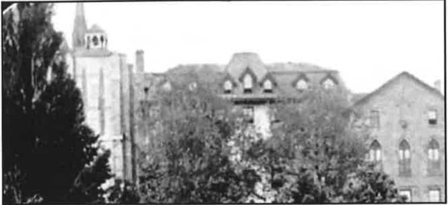 Historic Guelph 1915 view of Convent V48P14