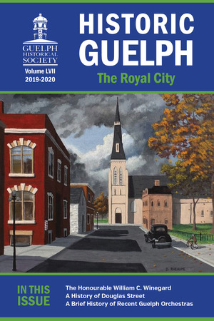 Historic Guelph 2020 Cover