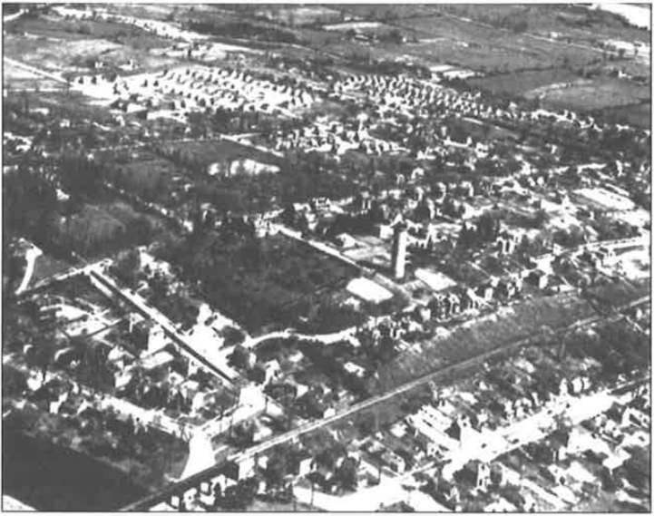 Historic Guelph Aerial View of Guelph V50P18