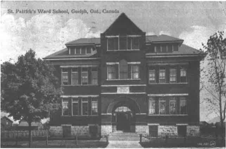 Historic Guelph St. Patricks Ward School V51P26