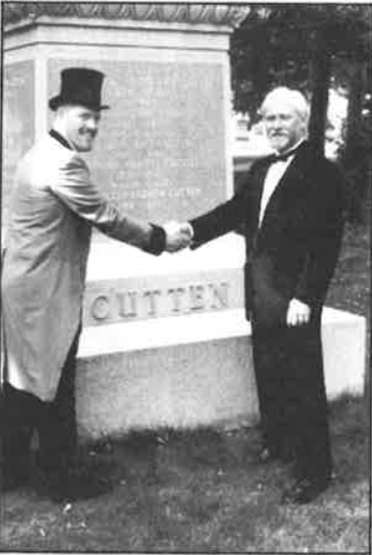 Peter Gokey welcomes Aurthur Cutten